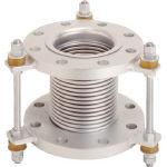 トーフレ フランジ無溶接型防振継手 10K SS400 150AX150L_