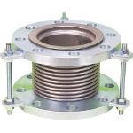 NFK 排気ライン用伸縮管継手 5KフランジSS400 100AX200L_