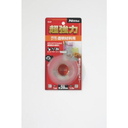 ニトムズ 超強力両面テープ透明材料用20×1.2_