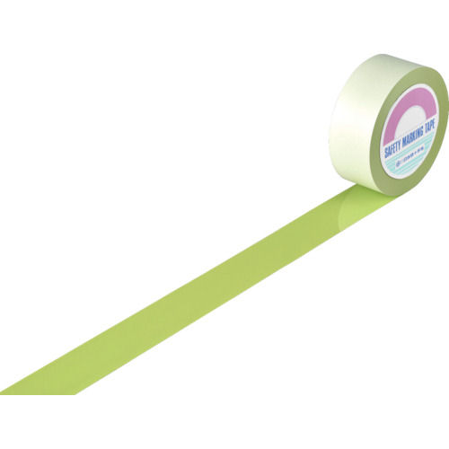 緑十字 ガードテープ オレフィン樹脂(表面ポリエステル加工) 50幅×20m_