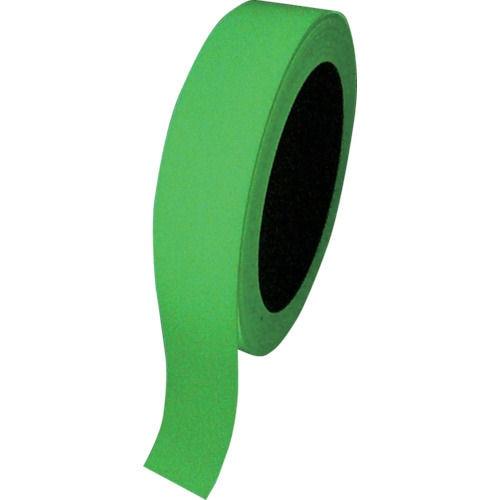 緑十字 高輝度蓄光テープ 25mm幅×10m 屋内用 PET_