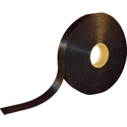 TRUSCO 耐候性マジックバンド結束テープ 両面 幅40mmX長さ30m 黒_