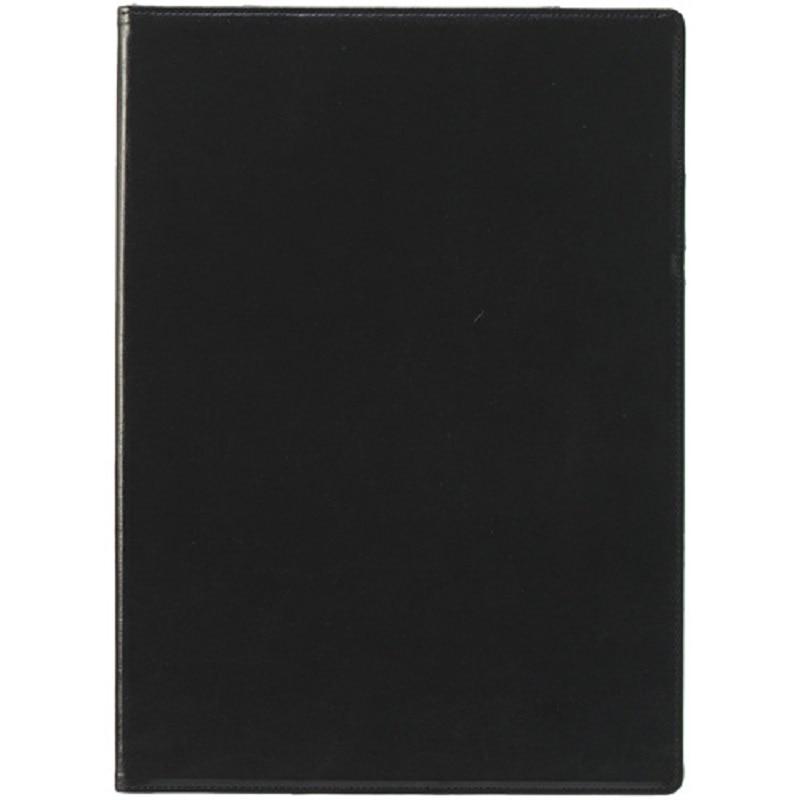 セキセイ ベルポスト クリップファイル A4-E ブラック