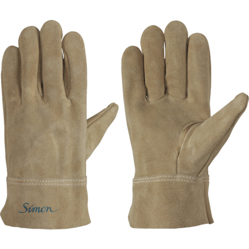 シモン 牛床革オイル加工手袋717PWオイル 各サイズ