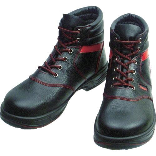 シモン 安全靴 編上靴 SL22-R黒/赤 各サイズ