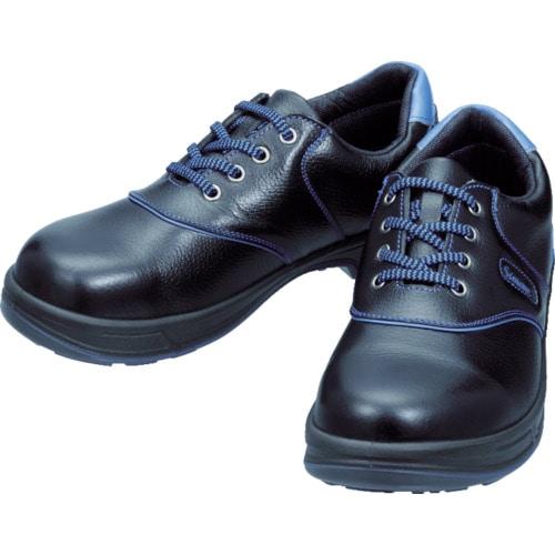 シモン 安全靴 短靴 SL11-BL黒/ブルー 各サイズ