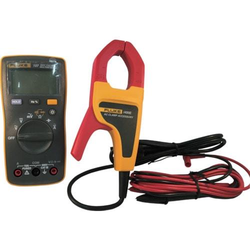 FLUKE ポケットサイズ・マルチメーター107i400E電流クランプ付キット_