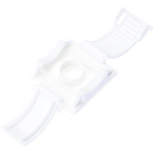 パンドウイット 固定具 クリンチャー 粘着テープ付き 白 (25個入)_