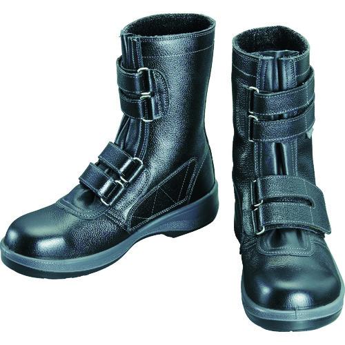 シモン 安全靴 長編上靴 7538黒 各サイズ