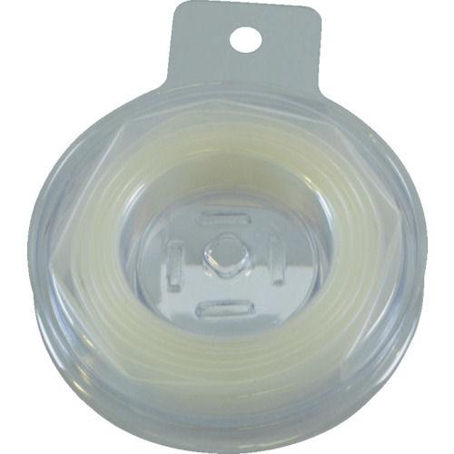 TRUSCO 熱収縮チューブ 収縮率2:1 透明 (1個入)_