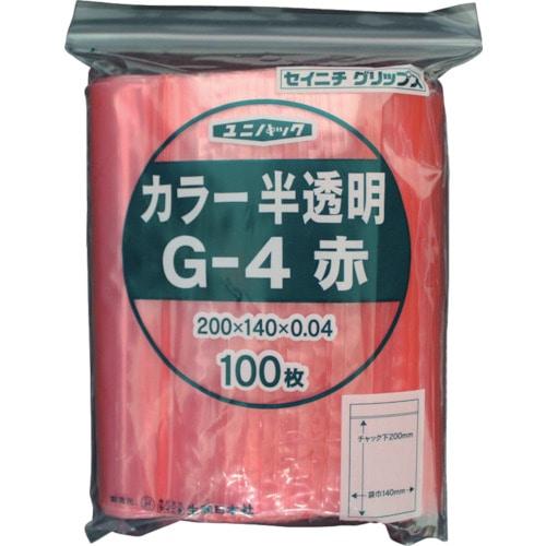 セイニチ 「ユニパック」 G-4 200×140×0.04 100枚入 各色