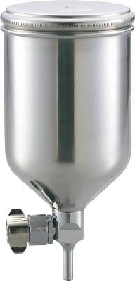 TRUSCO フリーアングル塗料カップ 重力式用 容量0.4L 脚付_