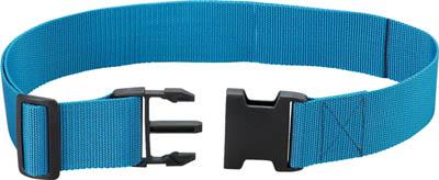 TRUSCO ワンタッチパックルワーキングベルト 50mm幅 ブルー_