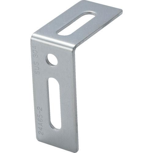 TRUSCO ジョイント金具24型L ステンレス 長さ60 穴数3_