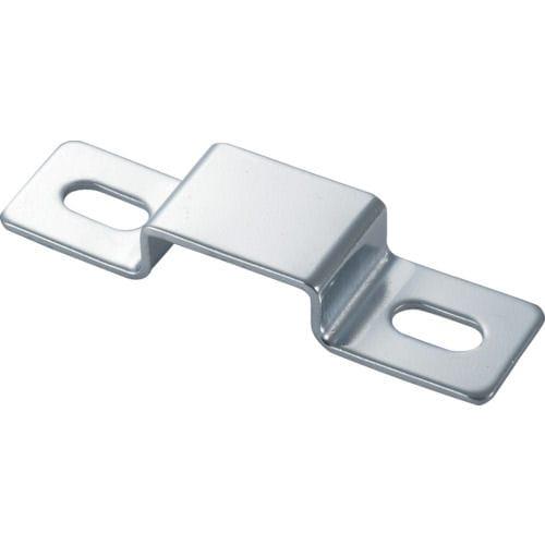 TRUSCO ジョイント金具24型27B クロム 寸法105X33 穴数2_