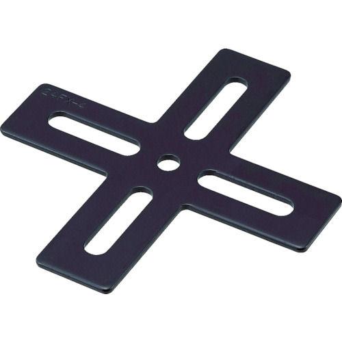 TRUSCO ジョイント金具24型フラットクロ寸法105×100_