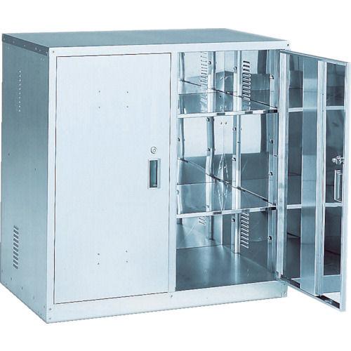 TRUSCO 耐震薬品庫 両開型 900X500XH900_