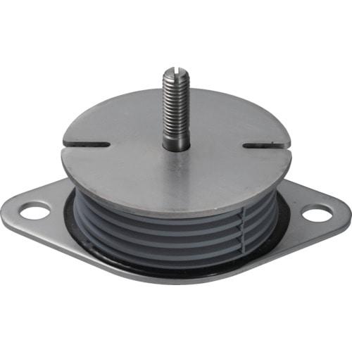 Taica 防振材 インシュレーター プレート(ゴム被覆)SUS 25~35kg_