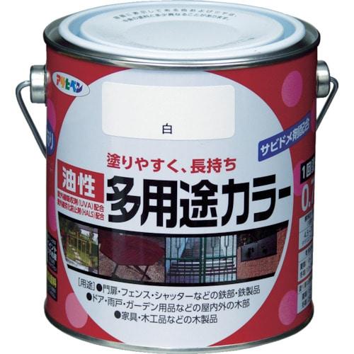 アサヒペン 油性多用途カラー 0.7L 各色