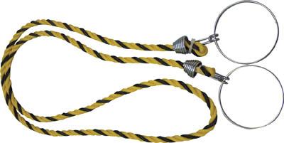 TRUSCO コーン用ロープ 標識 12mmX2m_
