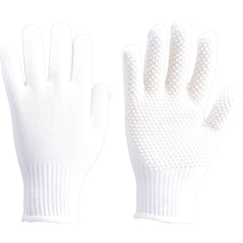 TRUSCO 安全すべり止め手袋 薄手 Lサイズ_