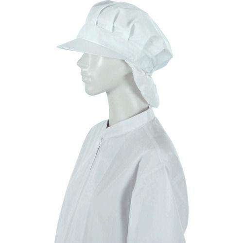 ジーベック 白衣八角帽25403白_
