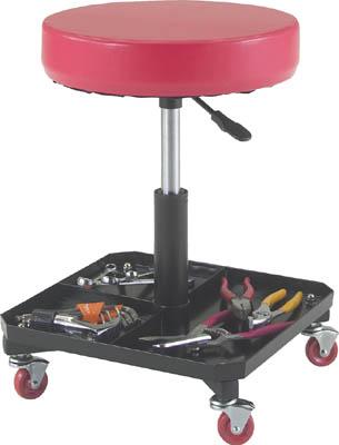 TRUSCO 工具入れ付作業椅子 370XH440ー555_