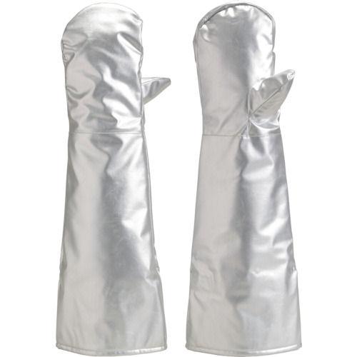 TRUSCO 遮熱・耐熱手袋 ミトンロング_