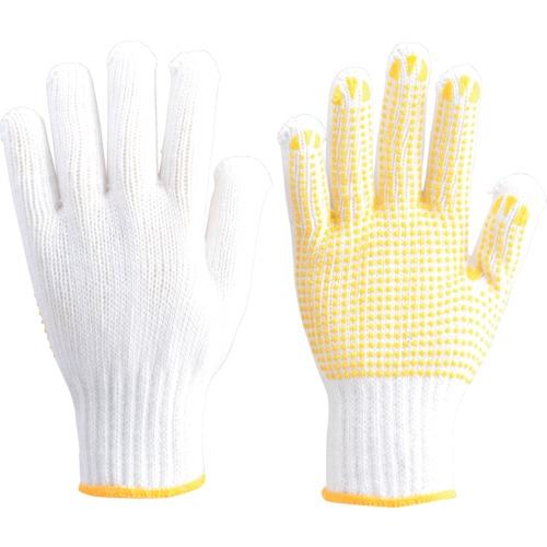 TRUSCO 一般作業用すべり止め手袋厚手 12双組 フリーサイズ_