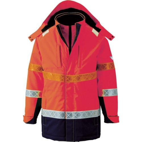ジーベック 801 高視認防水防寒コート オレンジ 各サイズ