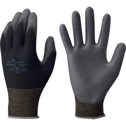 ショーワ B0500パ-ムフィット手袋 ブラック 各サイズ