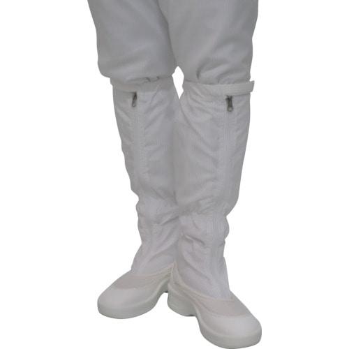 ゴールドウイン ファスナー付ロングブーツ ホワイト 各サイズ