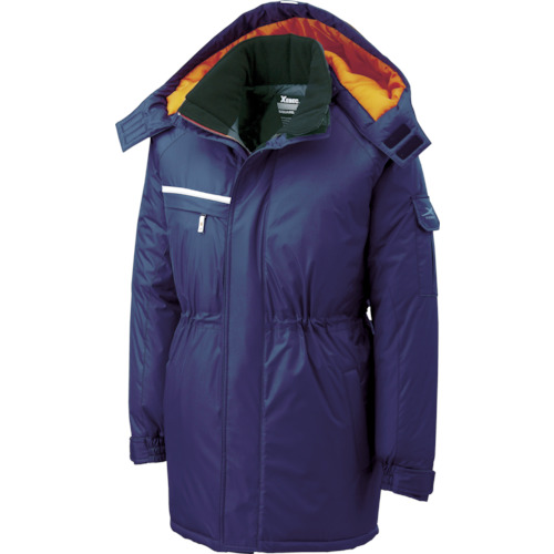 ジーベック 581581防水防寒コート 紺 各サイズ