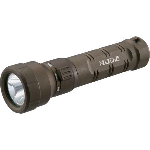 TRUSCO 充電式防水LEDライト NUDA 320ルーメン OD色_