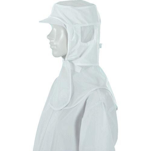 ジーベック 白衣フード25400白_