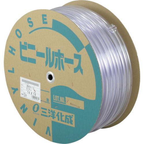 サンヨー 透明ホース 50m ドラム巻 各種