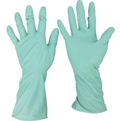 オカモト ふんわりやわらか天然ゴム手袋 グリーン 各種
