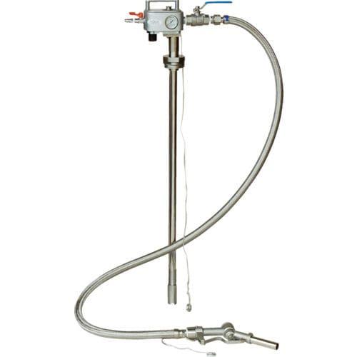 アクアシステム 吐出専用 エア式ステンレス製ドラムポンプ (加圧式)_