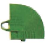 ワタナベ 人工芝 システムターフ 5cm×5cm コーナー グリーン_