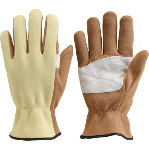 TRUSCO ザイロン耐切創手袋 平当て部補強タイプ Lサイズ_