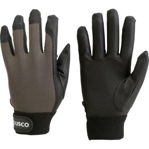 TRUSCO PU厚手手袋エンボス加工 OD 各サイズ
