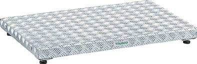 TRUSCO 低床式アルミ製ステップ 900X600XH90~120_