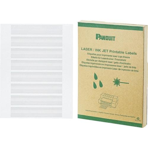 パンドウイット レーザープリンタ用回転ラベル 白 (2500本入)_
