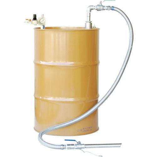 アクアシステム 吐出専用 SUS製エア式ドラムポンプ セパレート型_