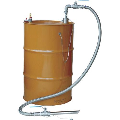 アクアシステム 吸入専用 SUS製エア式ドラムポンプ セパレート型_