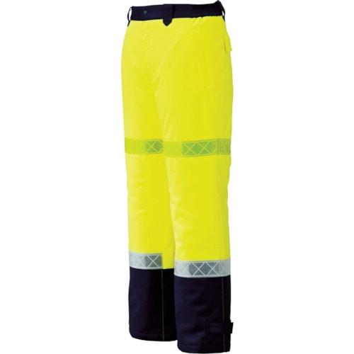 ジーベック 800 高視認防水防寒パンツ イエロー 各サイズ