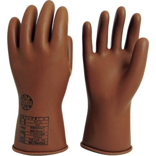 ワタベ 低圧ゴム手袋750V以下用 各種