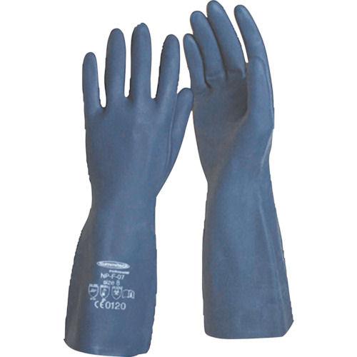 サミテック 耐油・耐溶剤手袋 サミテックNP-F-07 ダークブルー 各サイズ