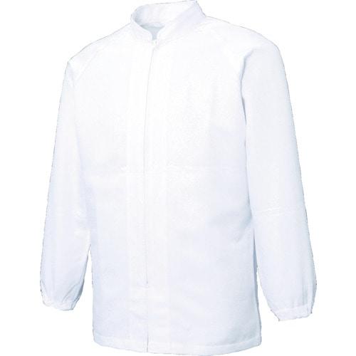 サンエス 超清涼 男女共用混入だいきらい長袖コート ホワイト 各サイズ