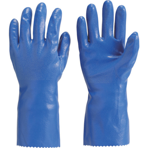 TRUSCO 厚手手袋 ロングタイプ Lサイズ_